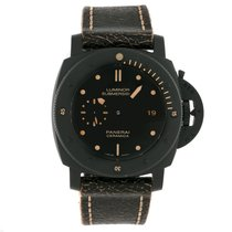 Panerai LUMINOR SUBMERSIBLE 1950 3 DAYS AUTOMATIC CERAMICA PAM...
