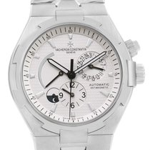 Vacheron Constantin Overseas Dual Time Silver Dial Watch 47450...