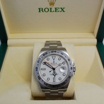 Rolex Explorer II Stainless Steel White Dial-216570