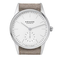 Nomos Orion 38 weiss