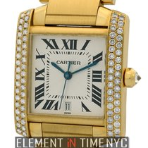 Cartier Tank Collection Tank Francaise 18k Yellow Gold Diamond...