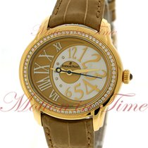 Audemars Piguet Millenary Ladies Automatic, Golden Beige -...