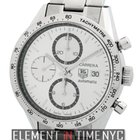 TAG Heuer Carrera Chronograph Stainless Steel 41mm Silver Dial...