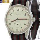 Nomos Glashutte Club Date 38mm Analog Mechanical Watch Canvas