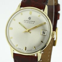 Junghans 14 Karat Gelb Gold Uhr Handaufzugs Kaliber 620.52 (1030)