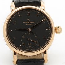 Chronoswiss Sirius Ch1021r 18k Rose Gold Mechanical Black Dial...