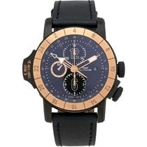 Glycine Airman Airfighter Chronograph GMT Men's Watch –...