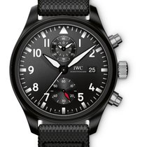 IWC [NEW] Pilot's Top Gun Black Dial Automatic IW389001