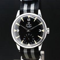 Omega Handaufzug black Dial cal. 267 with Ranchero Dial