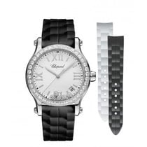Chopard Ladies 278582-3003 Happy Sport  Diamonds Watch