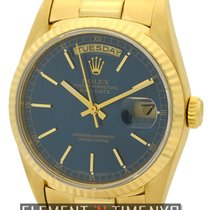 Rolex Day-Date President 18k Yellow Gold Double Quick Set...
