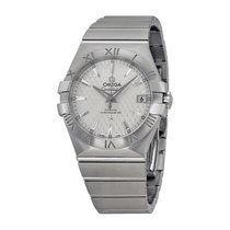Omega Constellation Co-Axial Automatic Silver Dial Stainless...