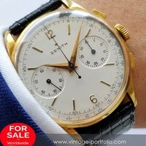 Zenith Perfect 38mm Zenith Chronograph 18 carat solid gold...