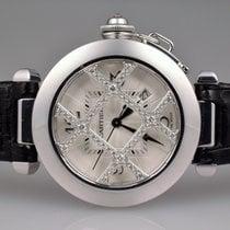 Cartier Pasha Weißgold WJ116136 Diamanten 32mm
