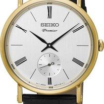 Seiko Premier SRK036P1 Herrenarmbanduhr flach & leicht