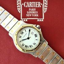 Cartier Santos Ronde Octagon  Steel/gold 18kt Medium size...