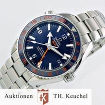 Omega NEU incl. USt. Seamaster Co-Axial GMT Full Set 232.30.44.22
