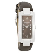 Raymond Weil Shine Diamond Ladies Brown Strap Swiss Quartz...