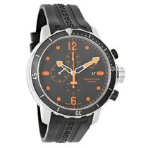 Tissot Seaster Black Rubber Strap Automatic Watch T066.427.17....