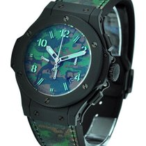 Hublot 301.CI.8610.NR Jungle Camouflage - 44mm Commando Bang -...