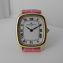 Baume & Mercier Lady 18k gold manual movement