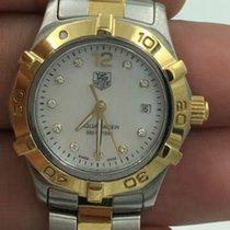 TAG Heuer Aquaracer Diamond Two-tone Ladies Watch Waf1425.bb0825