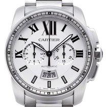 Cartier Calibre de Cartier Chronograph Stahl W7100045