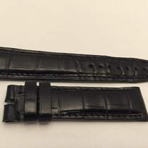 IWC Strap Cinturino 22x18 Crocodile Black