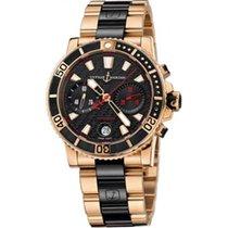 Ulysse Nardin Maxi Marine Diver Chronograph 42.7mm Rose Gold