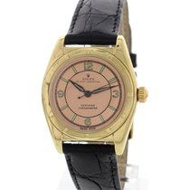 Rolex Men's Vintage Rolex Oyster Perpetual 18K Yellow Gold...