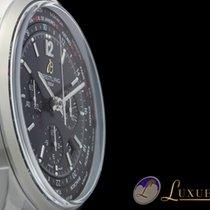 Breitling Transocean Chronograph Unitime Pilot Edelstahl...