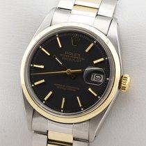 Rolex DATEJUST 1600 EDELSTAHL / GOLD GELBGOLD HERRENUHR