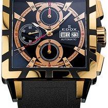 Edox Classe Royale Gold Chronograph Automatic 01105357rnnir