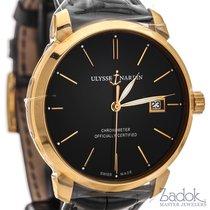 Ulysse Nardin Classico 40mm 18k Rose Gold Automatic Watch...
