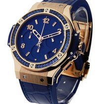 Hublot 41mm Big Bang Tutti Frutti Dark Blue Rose Gold