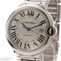 Cartier Ballon Bleu Jumbo Ref- W69013Z2 18k White Gold