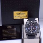 Breitling MB0413 GMT Chronomat Limited Edition Black PVD Steel