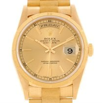 Rolex President Day-date Mens 18k Yellow Gold Automatic Watch...