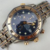 Omega Seamaster Professional Chronograph Titan-Tantal-Roségold