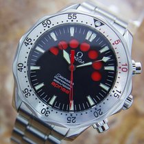 Omega Seamaster Apnea 42mm Stainless Steel Jacques Mayol Red...