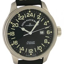 Zeno-Watch Basel Pilot 24 Stunden Automatik 48mm