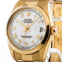 Rolex Datejust Medium 18kt Gelbgold an Oysterband Ref.6824