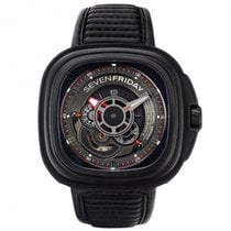 "Sevenfriday P3B/01 Stainless Steel / PVD ""Racer"""