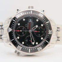 Omega Seamaster Chronograph Black Dial Ref. 213.30.42.40.01.001