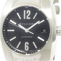 Bulgari Polished  Ergon Steel Automatic Mid Size Watch Eg35s...