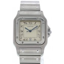 Cartier Santos Galbee Stainless Steel 1564 W/ Papers