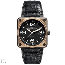 Bell & Ross BR 01-92 ROSE GOLD & CARBON