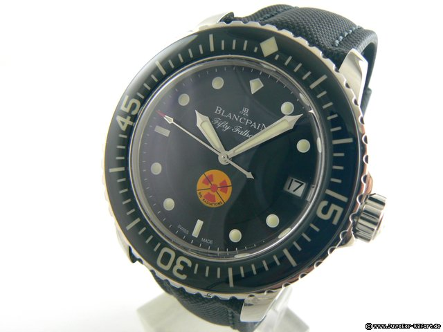 Blancpain TRIBIUTE TO FIFTY FATHOMS  NO RADIATIONS  LIMITED EDITION