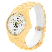 Patek Philippe Annual Calendar Moonphase 18k Yellow Gold Watch...