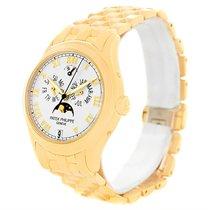 Patek Philippe Annual Calendar Moonphase 18k Yellow Gold Watch...